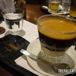 Café simples expresso no Café Havanna