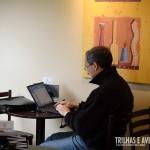 No Café Havanna o Wi-Fi é grátis para seus clientes