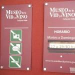 Placa na Entrada - Museu da Vida e do Vinho em Cafayate, Argentina