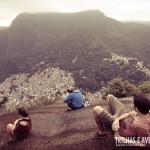 Em uma das paradas é possível ver toda a Favela da Rocinha