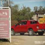 Entrada da Bodega el Esteco, em Cafayate, Argentina
