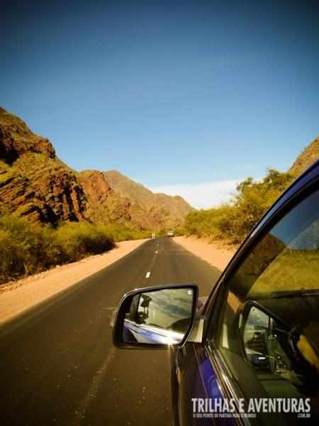 Roadtrip de Salta a Cafayate - na Argentina