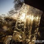 Cortina d'água no Parque das Fontes