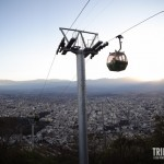 Do Teleférido de Salta é possível avistar a Cordilheira dos Andes
