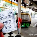 O passeio do Teleferico em Salta custa apenas 30 pesos!