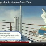 Telescópio do Polo Sul na Antártica