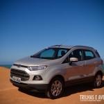 Novo Ford EcoSport na cor prata