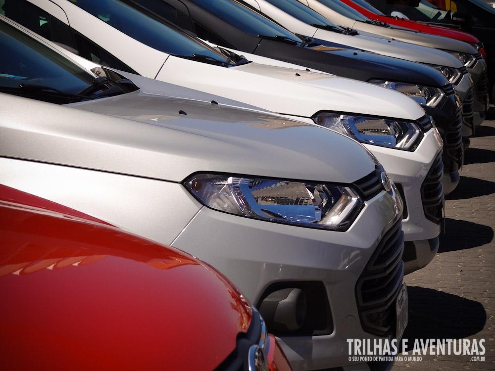 As cores do Novo Ford EcoSport são lindas, não acham?