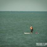 Águas calmas para a prática do Stand Up Paddle