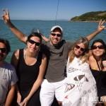 Blogueiros VIPs no passeio de barco da Saveiros Tour