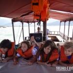 O uso do colete salva-vidas é obrigatório!