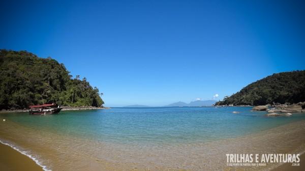 Panorâmica da Praia Guaíba de Fora em Mangaratiba