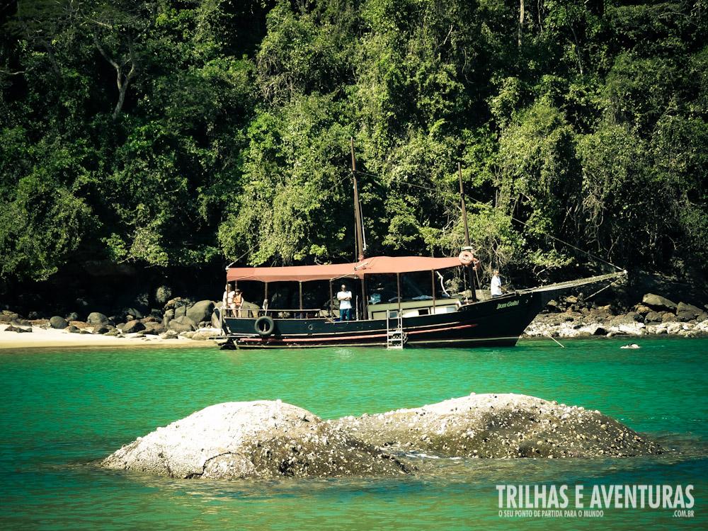 O passeio de escuna na Ilha Guaíba é simplesmente incrível!