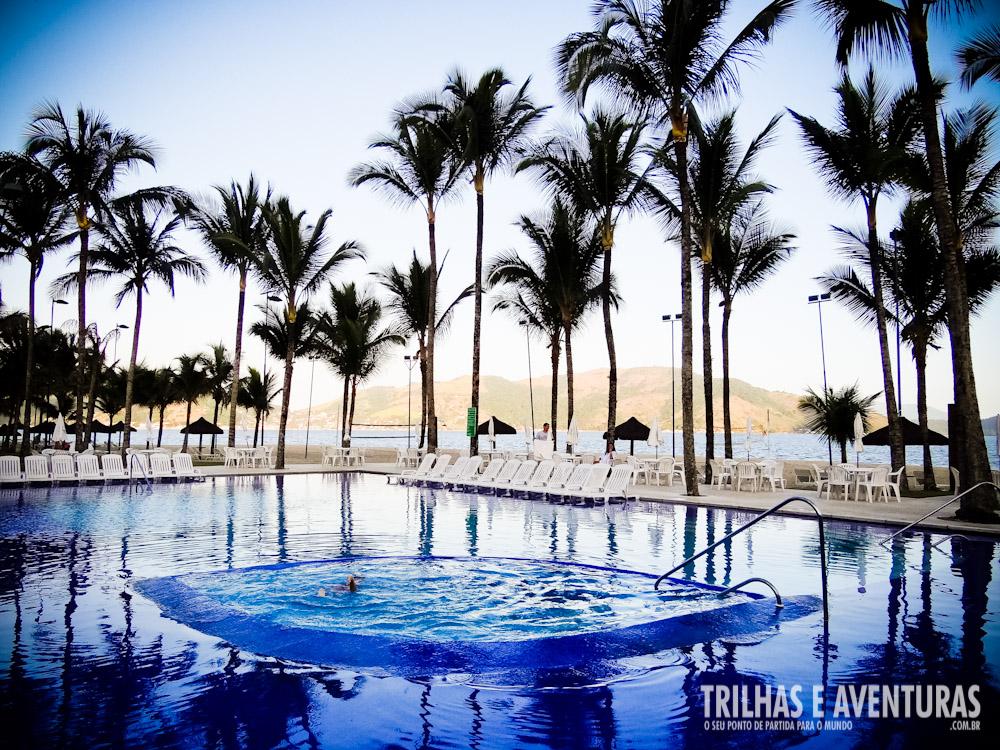Piscina fria e hidro aquecida do Portobello Resort e Safari