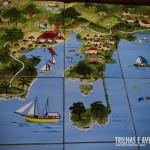Ilustração da localização do Portobello Resort e Safari