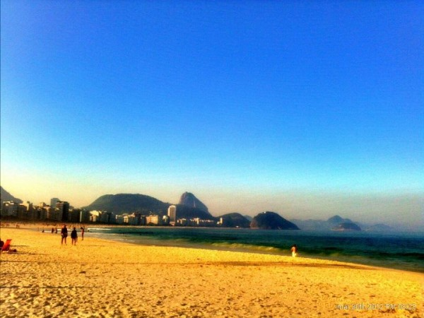 Fim de tarde em Copacabana