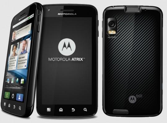 Motorola Atrix 4G, o smartphone mais poderoso do mundo