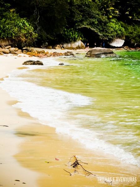 A cor do mar de Angra sempre me impressiona!