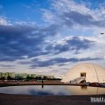 O céu de Brasília é mágico! As nuvens dão um toque especial a foto.