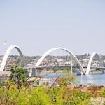 """Ponte JK ou """"Terceira Ponte"""", em Brasília"""