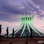 Fim de tarde na Catedral Metropolitana