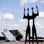 Dois Candangos - Obras de arte em Brasília