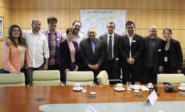Foto oficial do encontro de #BlogueirosMTur em Brasília