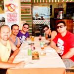 Almoçando no Restaurante Casa Nova, no Shopping Piratas
