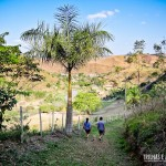 Trilha ecológica na propriedade do Eco Resort