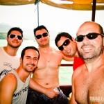 No passeio de barco em Paraty