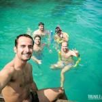 Curtindo as piscinas naturais de Paraty