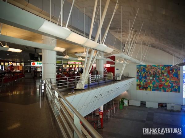 Estrutura interna do Aeroporto de Natal