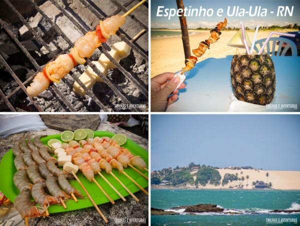 Experiência Gastronômica - Espetinho e Ula-Ula na Praia de Pitangui - RN