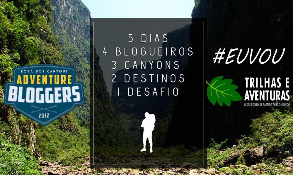 O Trilhas e Aventuras é um dos blogs escolhidos do Adventure Bloggers