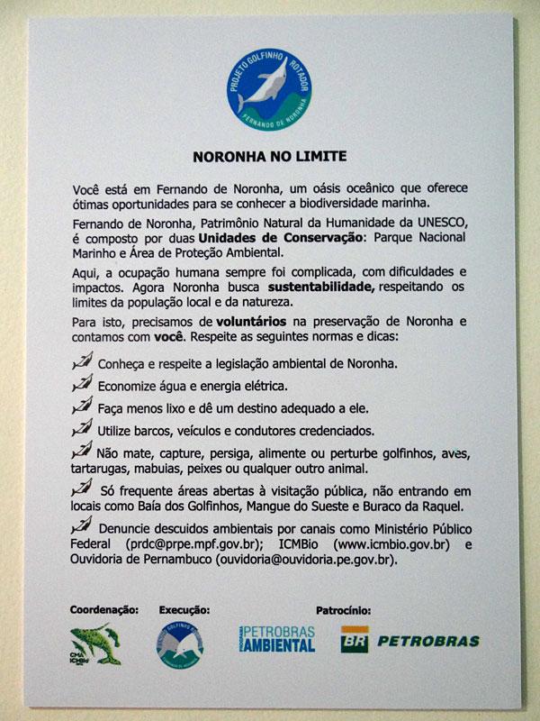 O Projeto Golfinho Rotador tem feito um excelente trabalho em Fernando de Noronha
