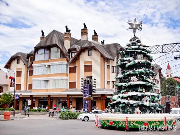 Decoração de Natal de Gramado fica presente entre Novembro a Janeiro