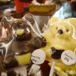 As crianças ficam apaixonadas pelos chocolates em formato de bichinho