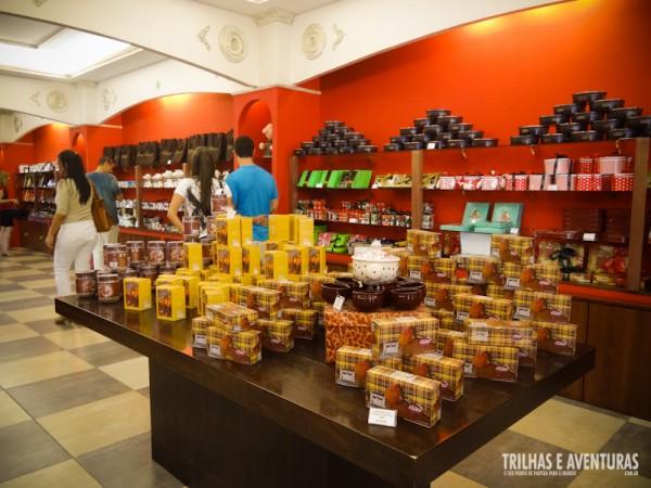 O Reino do Chocolate é uma das deliciosas atrações em Gramado