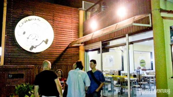 Fachada do Restaurante Cavanhas