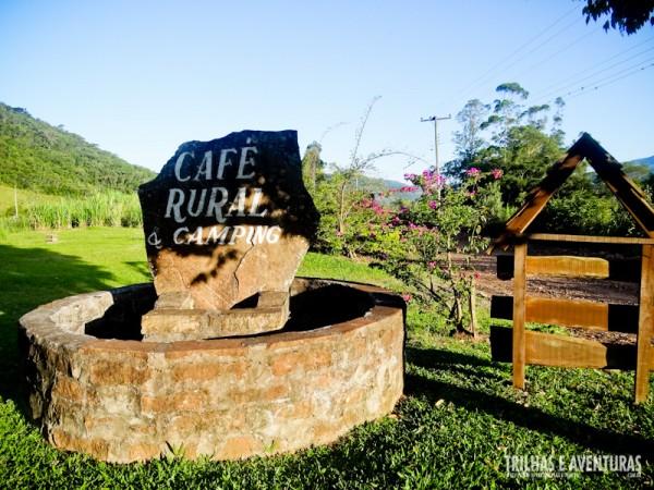 Café Rural e Camping, em Praia Grande