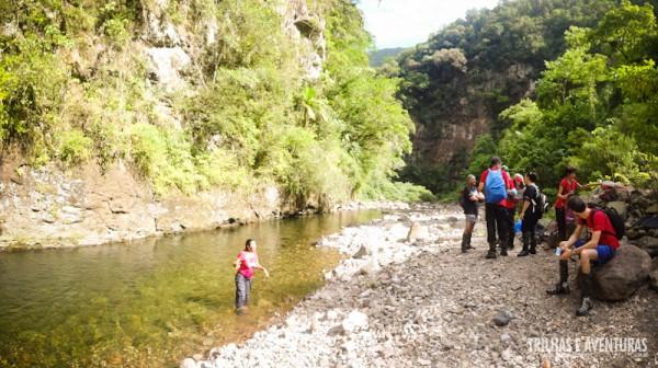 Pisinas Naturais convidam a um banho no Rio do Boi