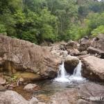Uma das muitas piscinas naturais no Cânion Malacara