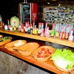 Saladas diversas para quem não come carne