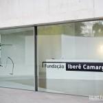 Entrada do prédio da Fundação Iberê Camargo