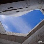 A arquitetura já surpreende ao olhar para o céu
