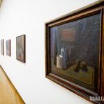 Exposições nas paredes