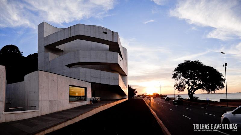 Fundação Iberê Camargo, em Porto Alegre