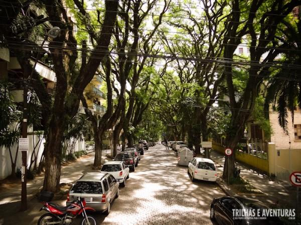 A rua mais bonita do mundo está em Porto Alegre