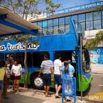 Um dos pontos de saída é na Secretaria Municipal de Turismo