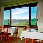 Restaurante com vista privilegiada dos cânions